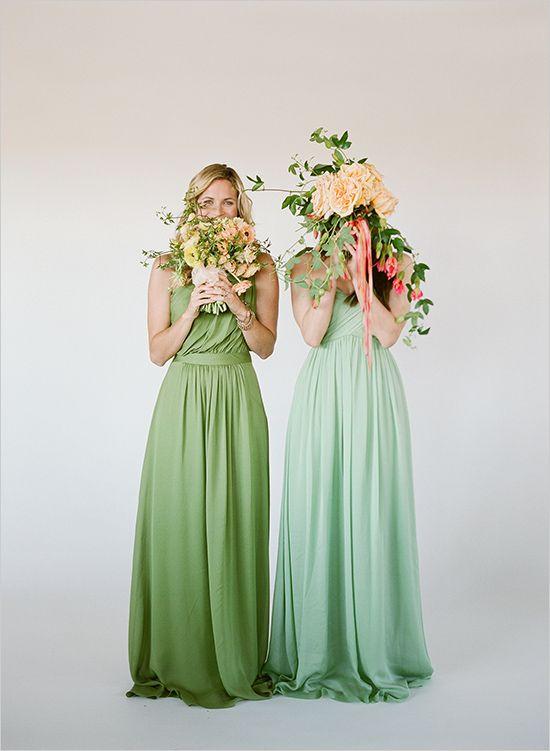 Pastel Bridesmaid Dresses 10