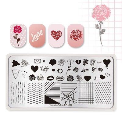 Valentine's Day -L002 Stamping Plate