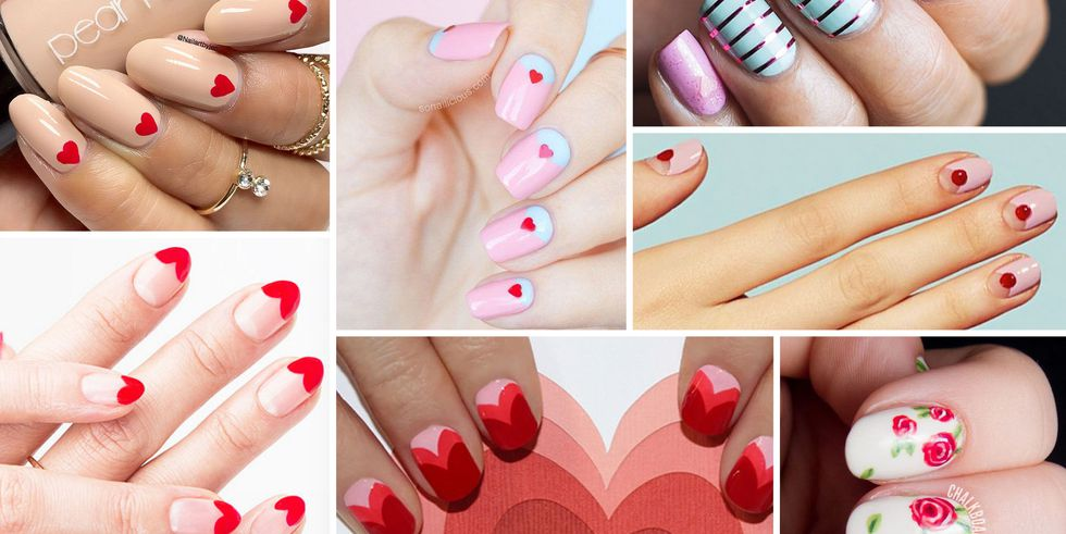 30 Valentine's Day Nail Art You'll Absolutely Adore