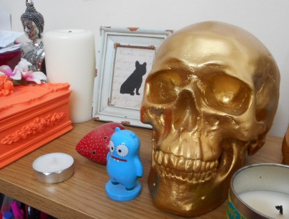 My Skull fascination started with this money box