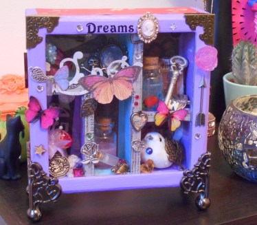Shadowbox altered art