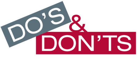 dos-and-dont
