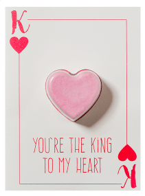 King To My Heart Blaster Card