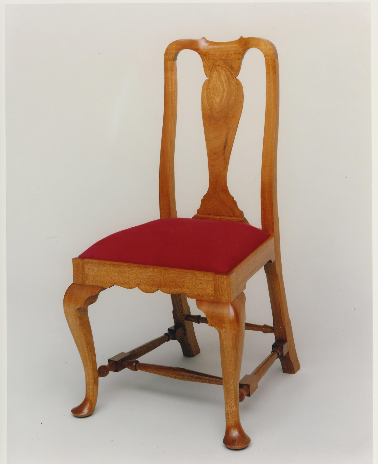 queen anne side chairs cherry ergonomics office chair brook woodworks