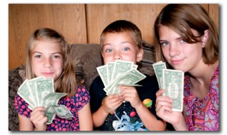 learn kids how to make money