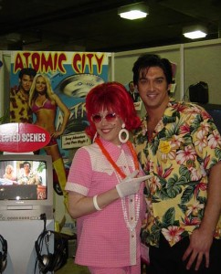 Trade ShowConference Spokesmodel (with Atomic City Elvis!)