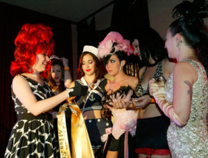 Burlesque Beauty Contest Judge