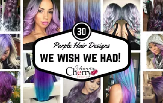 Purple Hair Designs