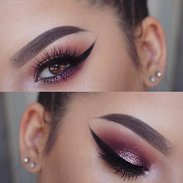 Coloured Eye Makeup Ideas for Brown Eyes 3