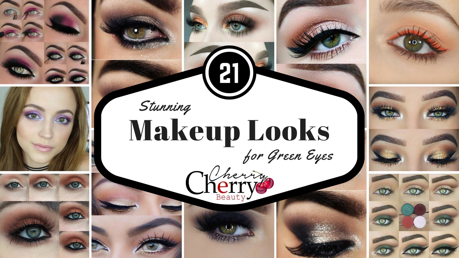 21 stunning makeup looks for green eyes - cherrycherrybeauty
