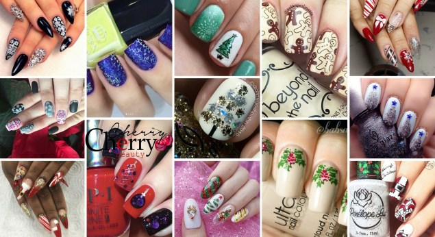 21 Christmas 2017 Mani Ideas