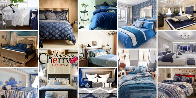 41 Beautiful Blue Bedrooms CherryCherryBeauty