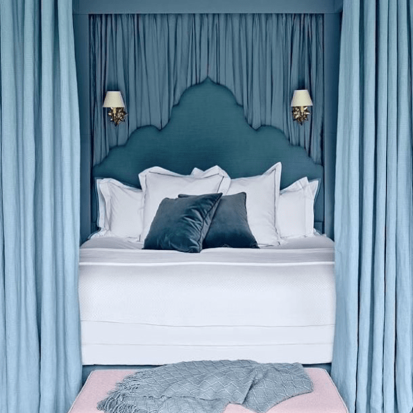 Beautiful Blue Bedrooms 19