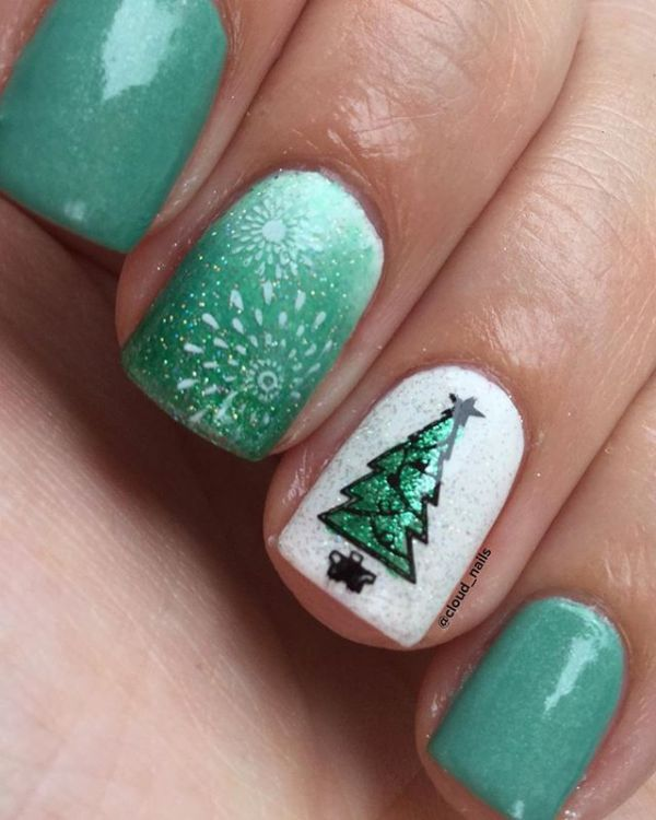 Christmas 2017 Mani Ideas 14