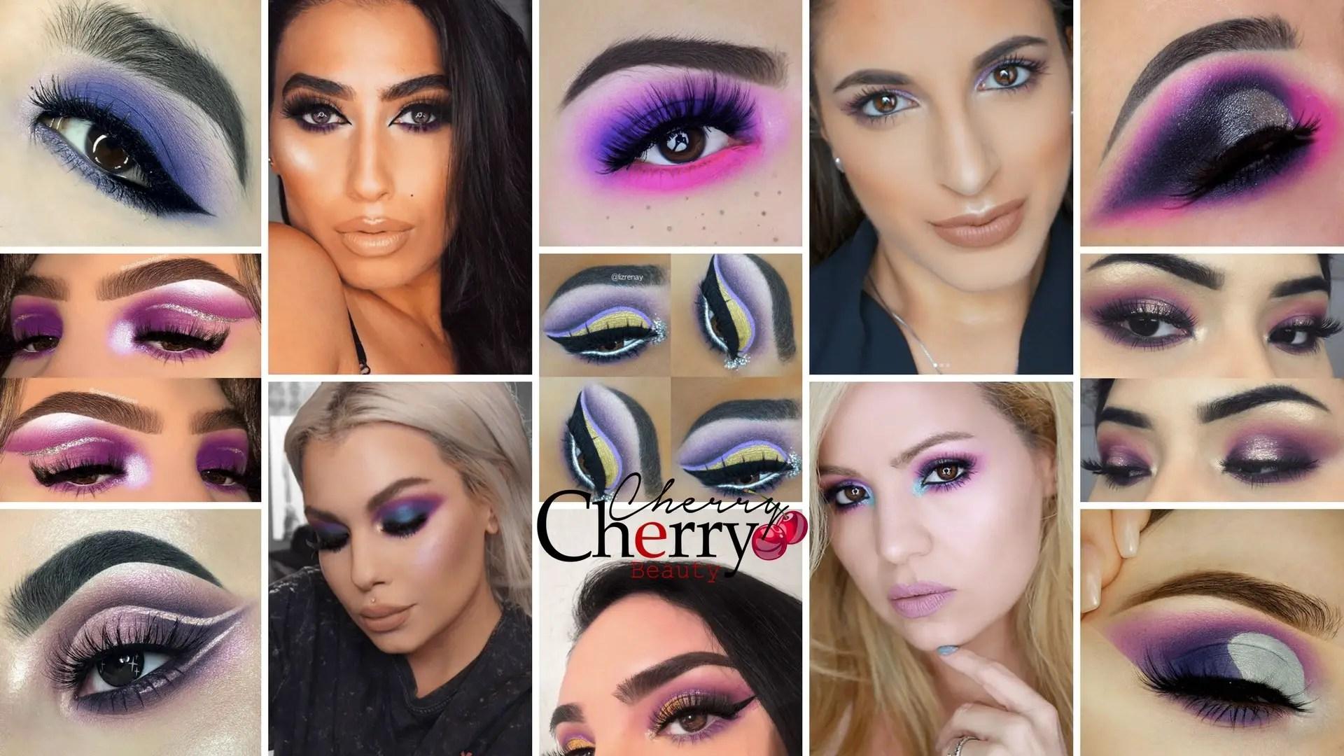 21 purple eyeshadow looks for brown eyes - cherrycherrybeauty