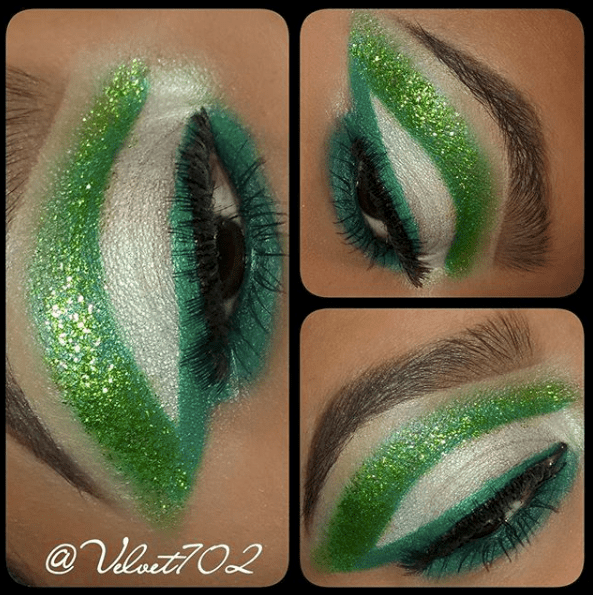Makeup for St Patricks Day 1