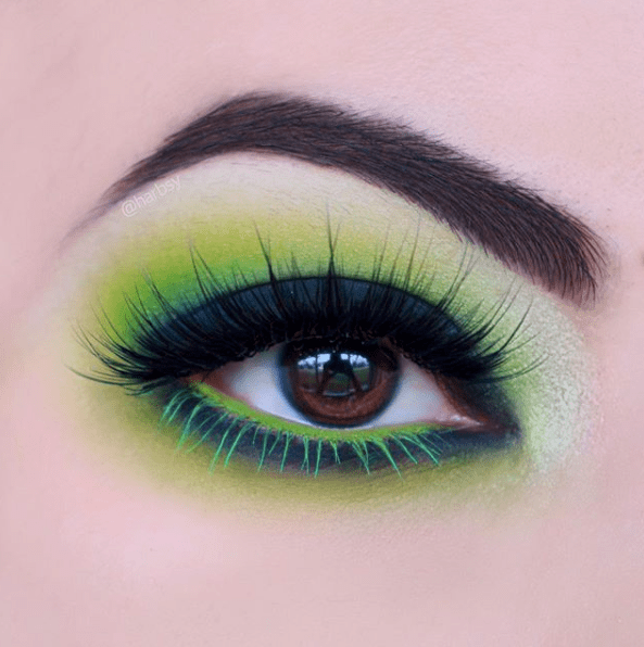 Makeup for St Patricks Day 13