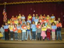 January Awards Cherry Creek Elementary