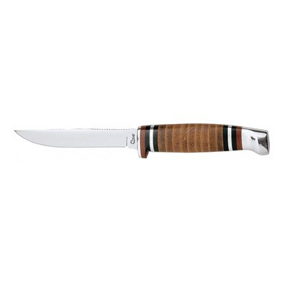 M3FINN SS Leather Hunter w/Sheath