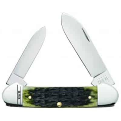 Olive Green Bone - Russell Jig Canoe