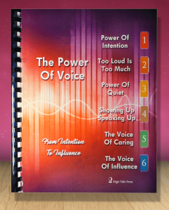 Power Of Voice Manual