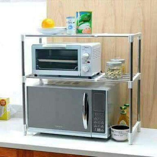 multi functional microwave oven shelf rack