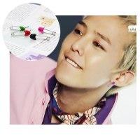 G Dragon Safety Pin Earring S | Cherry K-shop