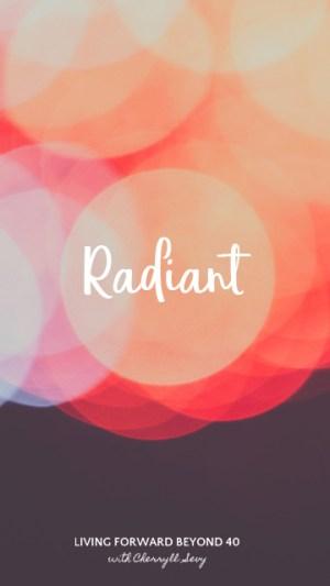 Radiant phone wallpaper