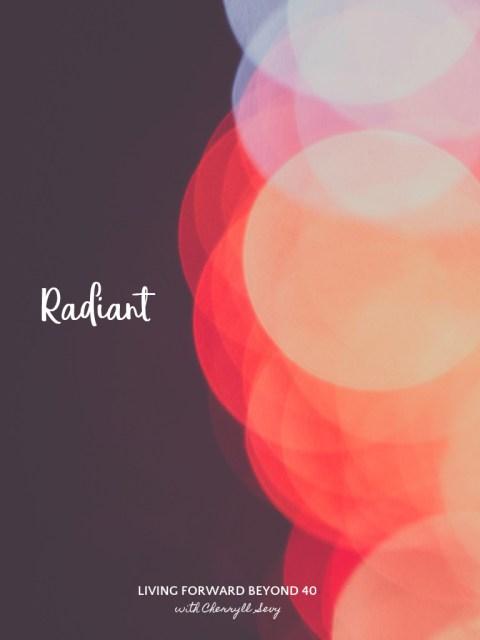 Radiant tablet wallpaper