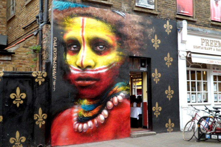 Brick Lane London Street Art