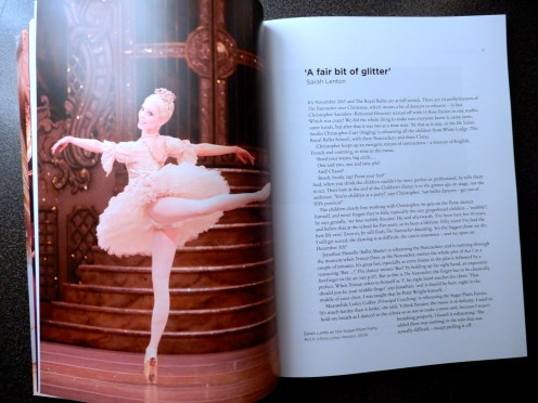The Nutcracker blog Sugar Plumb Fiary English National Ballet Royal Opera House Ballet Ballerina