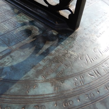 Kew Gardens London sun dial DSCN5750
