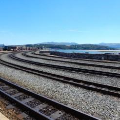 Ffestiniog & Welsh Highland Railways – Steam train journey from Beddgelert to Porthmadog Wales UK DSCN6539