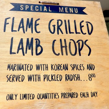 Southbank London River Thames Korean Food DSCN7806
