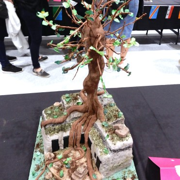 The Cake and Bake Show London art tree DSCN8070