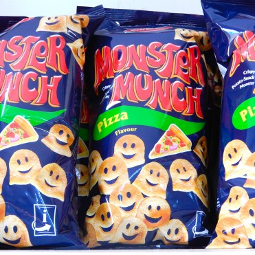 Very different from UK Monster Munch!!
