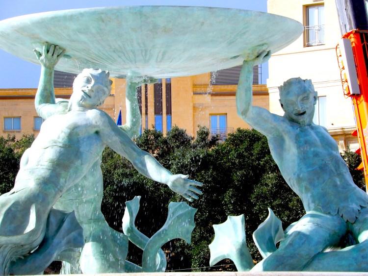 Malta Valletta cherrylsblog.com fountain DSCN0831