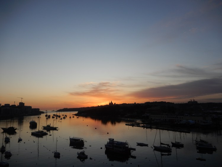 Malta Valletta sunrise cherrylsblog.com DSCN0467