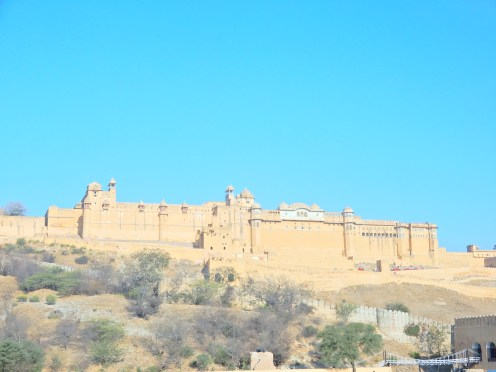Amber Fort in the Aravalli Hills
