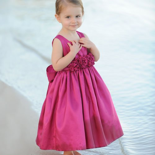 spring flower girl dress