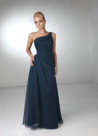 One Shoulder Navy Blue Bridesmaid Dresses to Inspire You ...