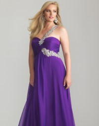 Elegant and Modest Plus Size Purple Bridesmaid Dresses ...