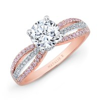 Gorgeous Rose Gold And White Gold Wedding Rings | Cherry Marry