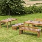 46% sparen – 12-Sitzer Gartengarnitur-Set NOTBURGA – nur 618,99€