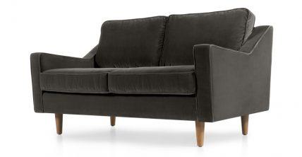2-Sitzer Sofa Dallas Betongrau