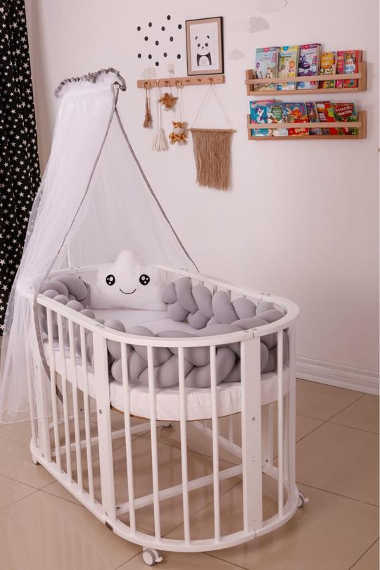 Sophie Multifunktionales Babybett Weiß