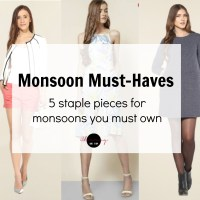 Monsoon Fashion Must-haves (Ft. TATA Cliq)