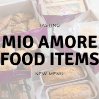 Tasting New Mio Amore Food Items