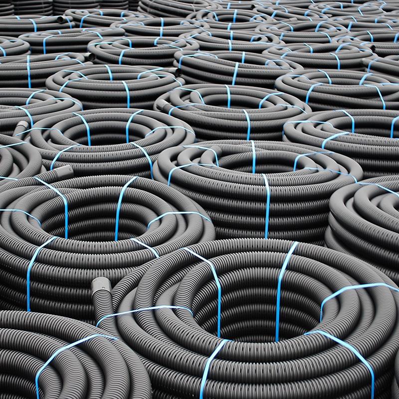 land drain coil pipe