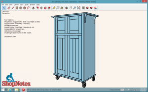 SketchUp on Windows 8 Tablet